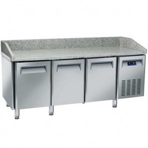 Banco pizza 2025 mm a 3 porte 600x400 mm