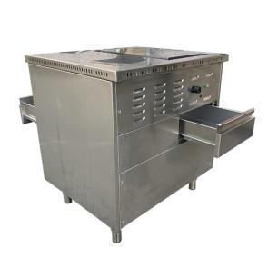 Postazione griglieria elettrica (fry top cromato + piano neutro) - USATO