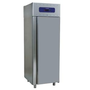 congelatore da 700 litri in inox, GN 2/1, -10°/-22°C, 85 mm isolamento