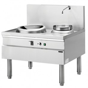 piano di cottura wok a induzione, 1 piastra, 1 piastra zuppe
