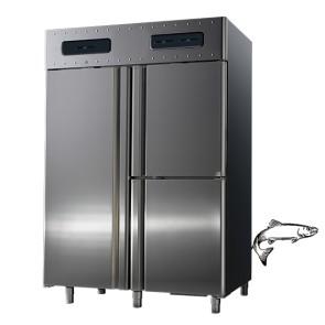 Armadio frigorifero 3 vani 700+350+350 litri.3 temp. -2c +8c e o + 5 c per pesce