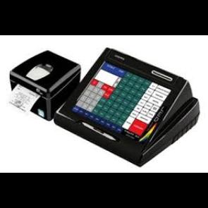 Cassa automatica c/computer pos sp800, 1 coristec print e 2 stampanti comand mod WTP200II USATA