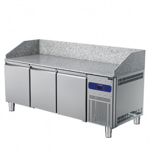 banco pizza 2150 mm a 3 porte 600x400 mm