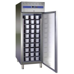 Congelatore professionale 800lt per conservazione gelato in vaschette temp.-18/-22° 10 piani interni