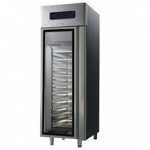 Armadio frigorifero ventilato con porta in vetro,,hccp700 lt temp.-2/+8°c