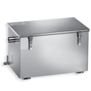 Separatore di grasso manuale, capacità 45+45 lt.
