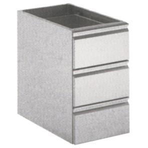 cassettiera 3 cassetti, 400x640 mm
